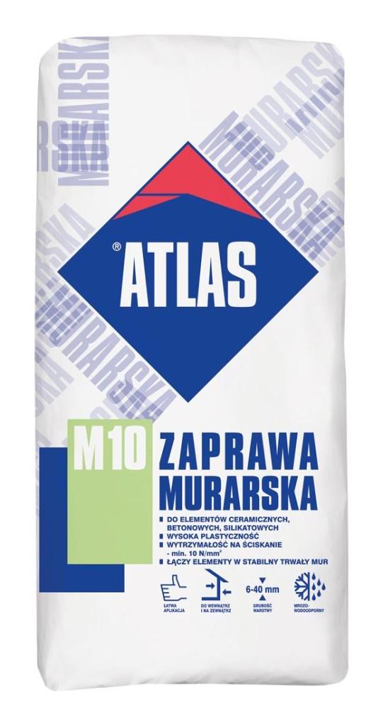 Zaprawa murarska M10 ATLAS. Fot. Atlas