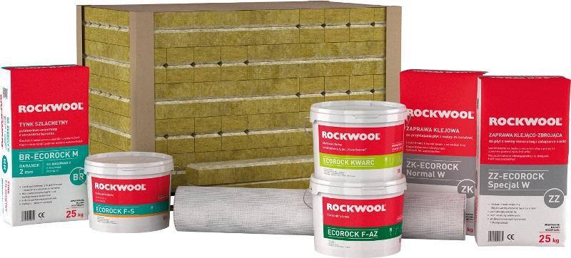 ECOROCK FG - zestaw do ocieplania stropów pomieszczeń nieogrzewanych. Fot. Rockwool
