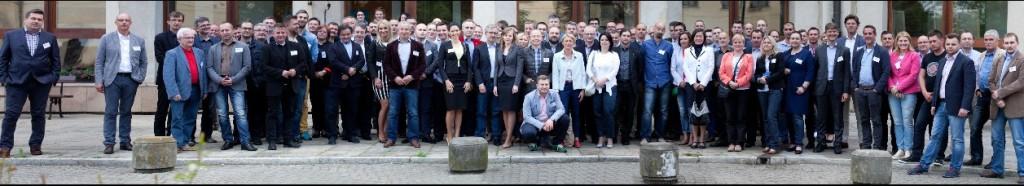 Reprezentanci firm członków stowarzyszenia DAFA podczas dorocznego, majowego spotkania DAFA