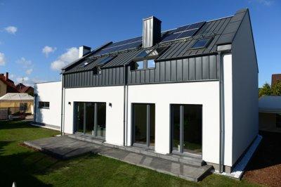 Hybrydowy dom pokazowy w standardzie Saint-Gobain Multi-Comfort, wybudowany w Gdańsku. Fot. Saint-Gobain