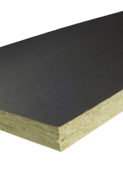 PAROC InVent G9 - nieplana płyta z wełny kamiennej do izolacji termicznej i ochrony przed hałasem z kanałów. Fot. Paroc