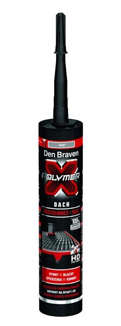 Klej uszczelniacz X-POLYMER Dach firmy Den Braven. Fot. Den Braven