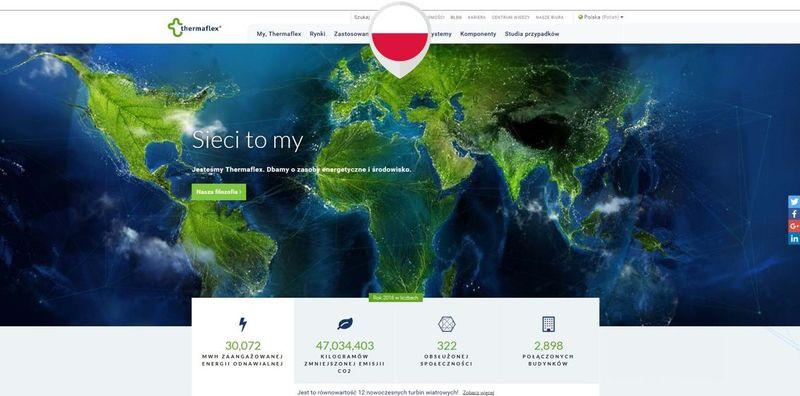 Nowa strona www.thermaflex.com/pl. Fot. Thermaflex