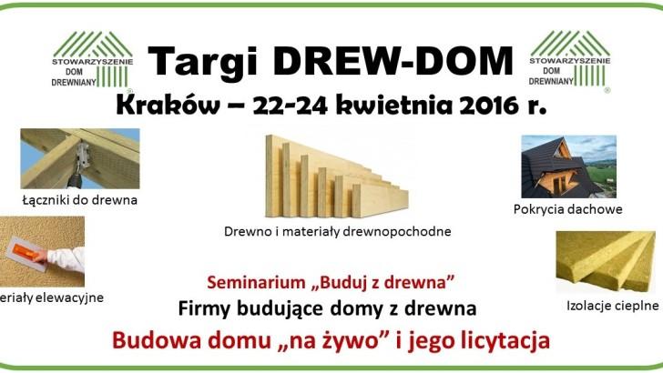 Pierwsze targi budownictwa drewnianego w Polsce – DREW-DOM, 22-24 kwietnia