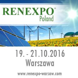 Doceń energetykę przyszłości podczas 6.Edycji Międzynarodowych Targów Energii i Efektywności Energetycznej RENEXPO® Poland