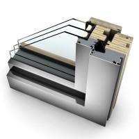 Okno INTERNORM HF 410 – drewniany rdzeń, wyjątkowe parametry termoizolacyjne