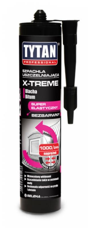 Szpachla uszczelniająca X-TREME marki Tytan Professional. Fot. Selena