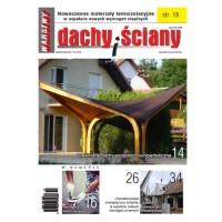 Co ciekawego w czasopiśmie WARSTWY – DACHY I ŚCIANY 4/2016