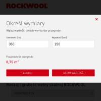 Kalkulator ilości wełny skalnej – nowa aplikacja mobilna dla wykonawców od Rockwool