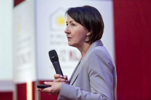 Lucyna Oborska, dyrektor Polskiego Centrum Akredytacji na IV Międzynarodowej Konferencji ETICS. Fot. SSO