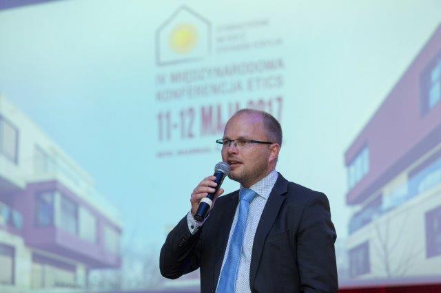Ralf Pasker z European Association fot ETICS na IV Międzynarodowej Konferencji ETICS. Fot. SSO
