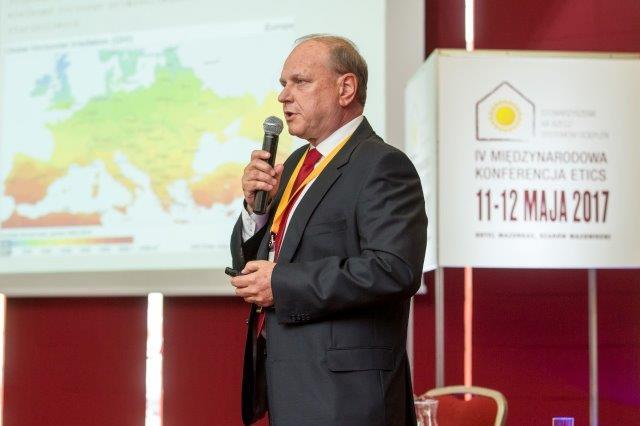 Mariusz Garecki, Stowarzyszenie na Recz Systemów Ociepleń. IV Międzynarodowa Konferencja ETICS.  Fot. SSO