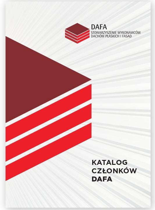 Okładka Katalog Członków DAFA