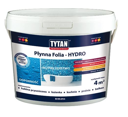TYTAN  Professional Płynna Folia. Fot. Selena