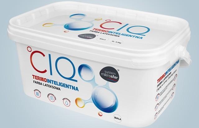 Nowość: Inteligentna farba CIQ, która izoluje ściany