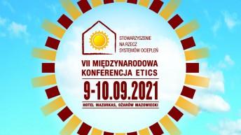 VII Konferencja ETICS: Rola ociepleń dla neutralności klimatycznej i ekologicznej gospodarki – 9-10 września